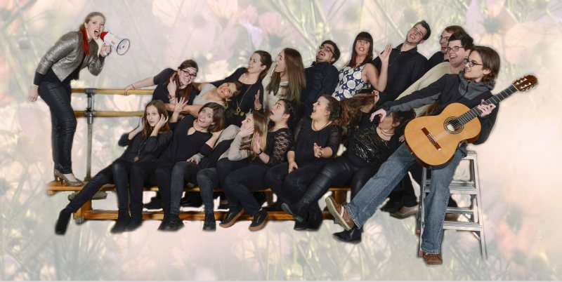 "Chorkonzert ""Joyful Noise"" mit dem Chorensemble 007 am 6. Mai in der Turnhall in Jockgrim"
