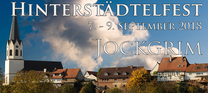 Hinterstädtelfest Jockgrim - 7.-9. September 2018