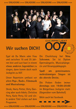 Flyer Jugendchor 007
